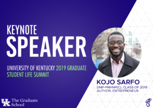Keynote Speech – University of Kentucky (April 27, 2019)